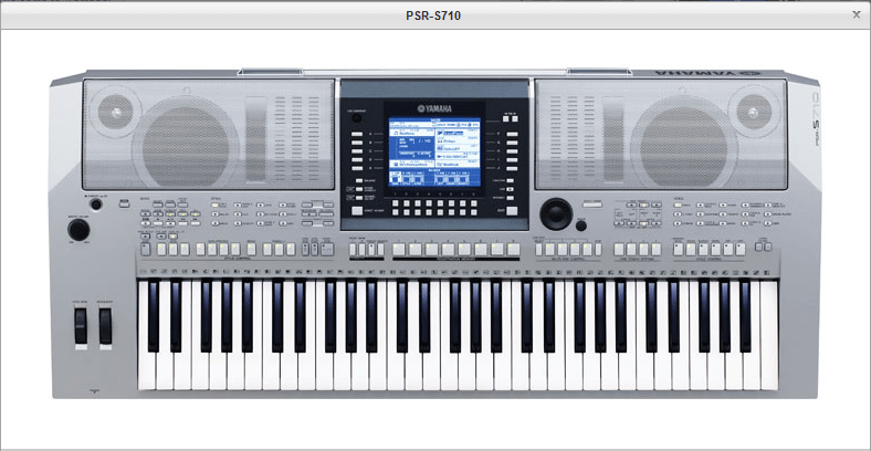 Yamaha PSR-S710 - Arranger workstation