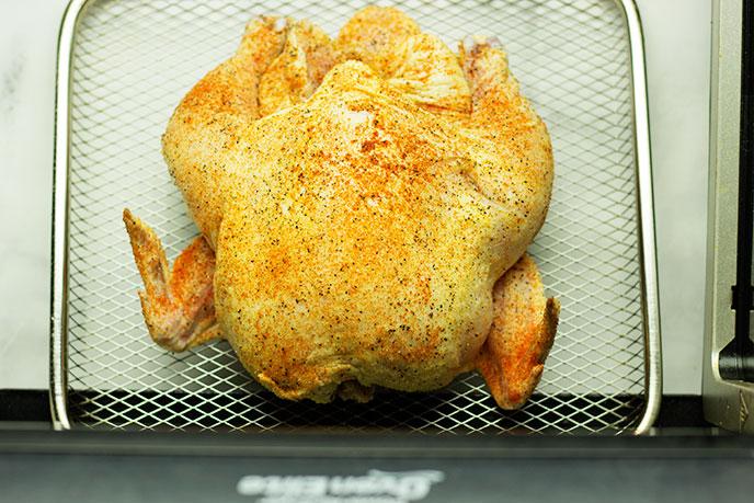 cornish hen in air fryer