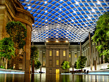 Kogod Courtyard by M.V. Janzten (by way of the Smithsonian American Art Museum's flickr photostream)