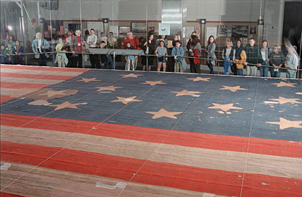 The actual, original Star-Spangled Banner