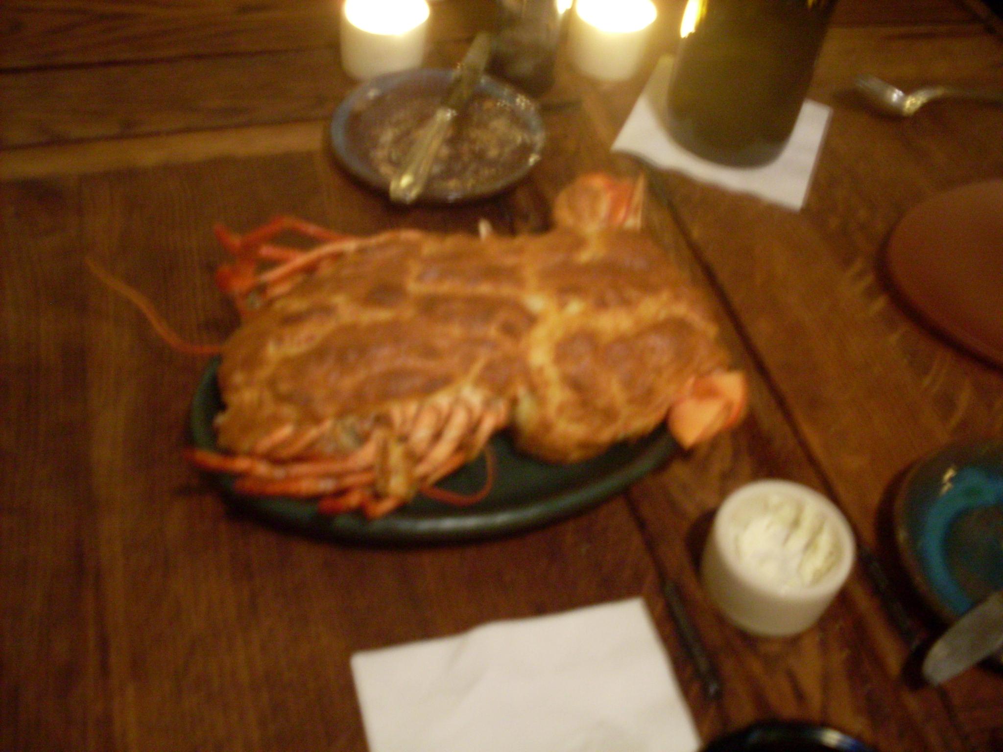 Lobster soufflé
