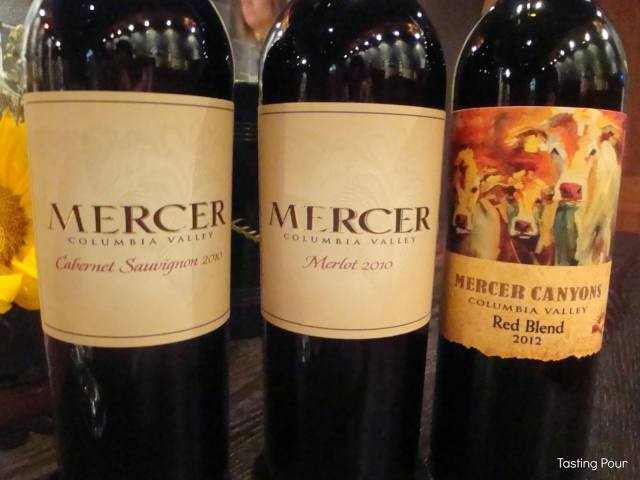 Mercer Estates Winery Wines from Horse Heaven Hills