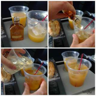 Drinks on a Plane: Bourbon Saves the Day