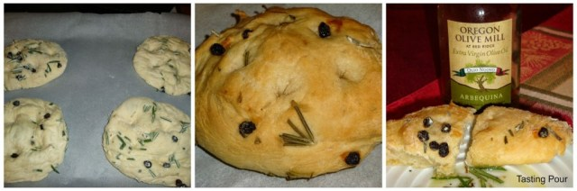 Rosemary, dried currant, olive oil focaccia