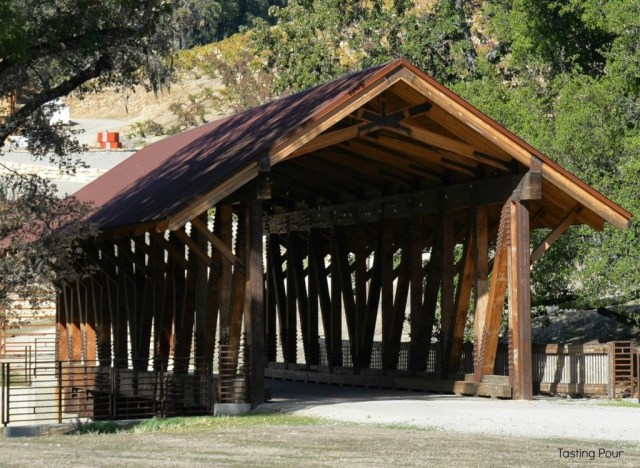 Covered Bridge at Halter Ranch Vineyards in Paso Robles