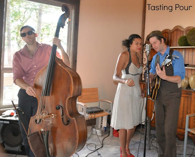 Boy and Bean Jazz Trio at Solena Estate Willamette Valley