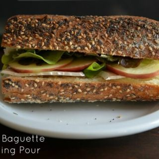 Sandwich Supper: Brie Paired With Gris