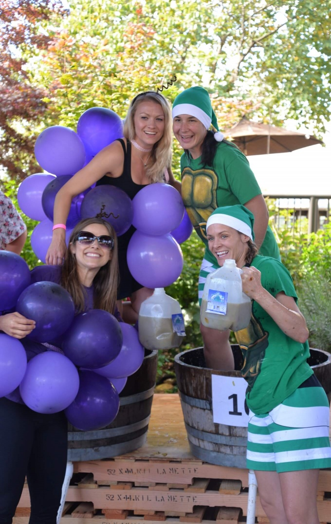 Grape Stomp Costumes