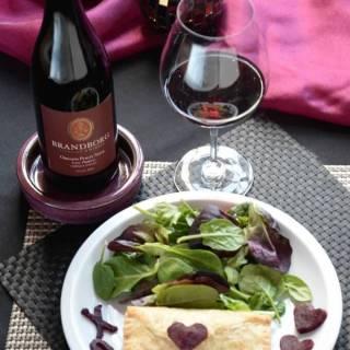 Mushroom Pastry & Brandborg Winery Pinot Noir #winepw
