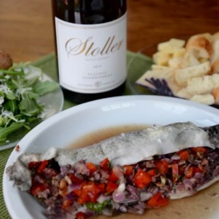 Whole Rainbow Trout & Stoller Chardonnay