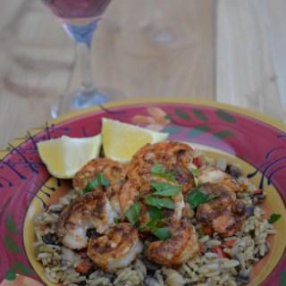 Seafood Paella & Rosé Wine