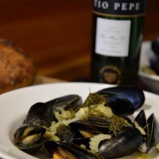 Fino Sherry and Fennel #winepw