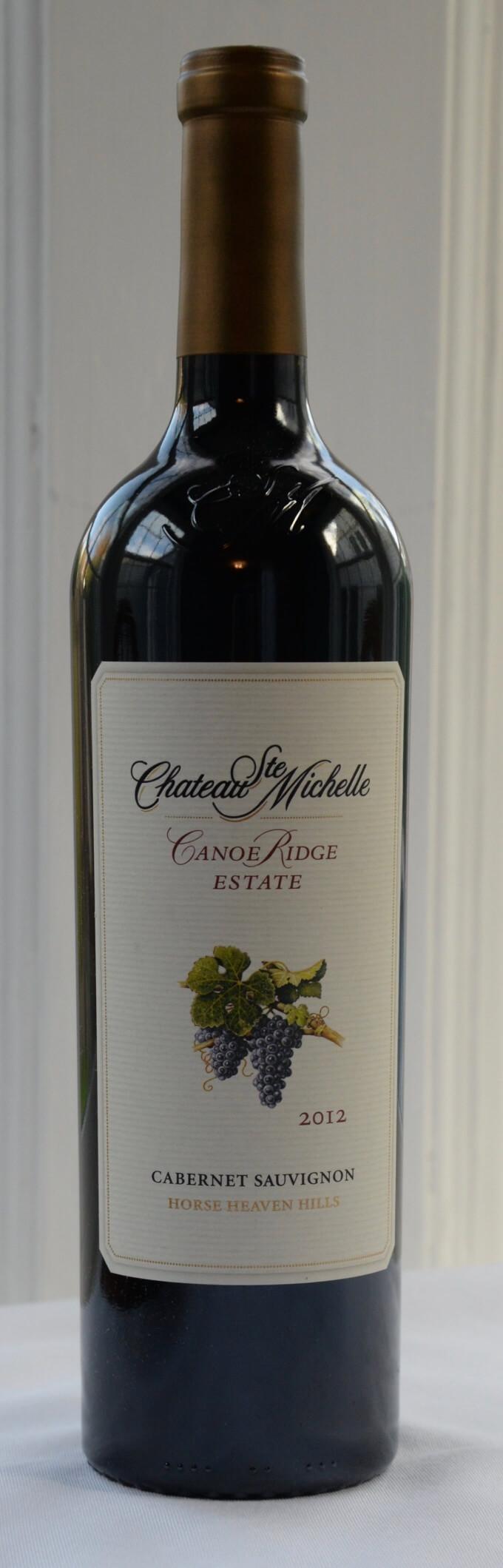 2012 Chateau Ste. Michelle Canoe Ridge Estate Cabernet Sauvignon Horse Heaven Hills