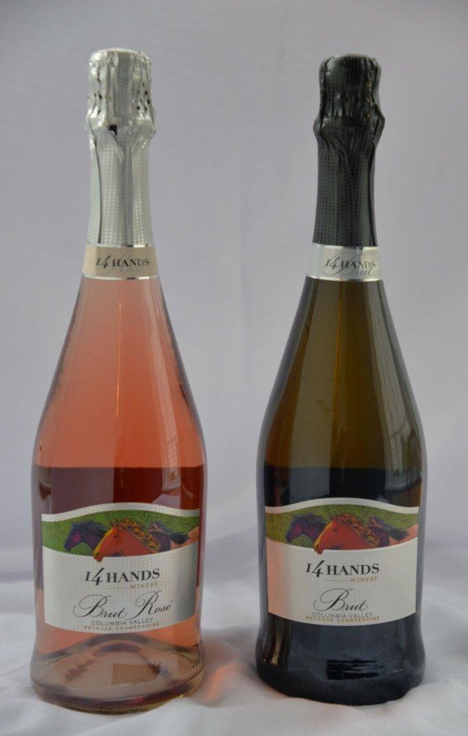 14 Hands Winery Brut Sparking Wine