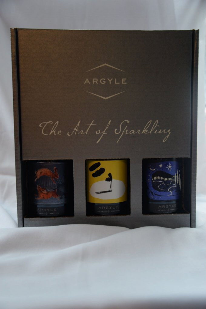 Argyle Art of Sparkling Wine Gift Box