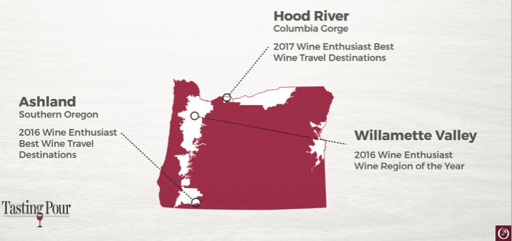 Oregon Wine Travel Destination
