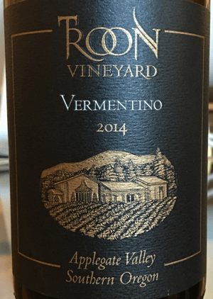Troon Vineyard Vermentino