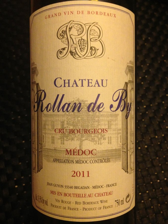 Chateau Rollan de By 2011 Cru Bourgeois Medoc