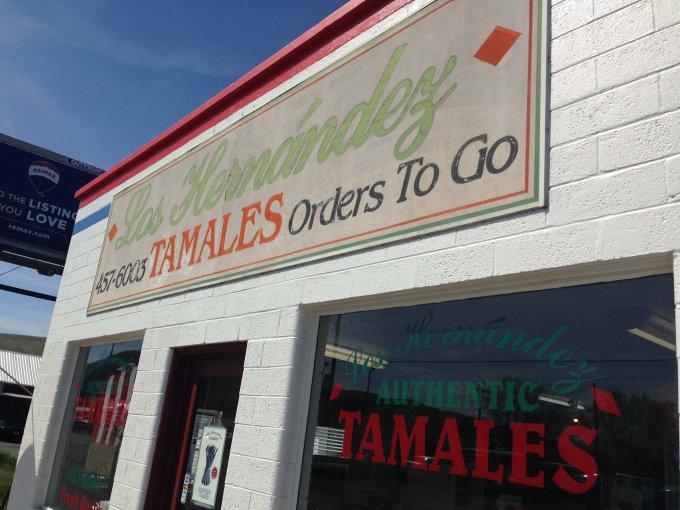 Los Hernandez Tamales Yakima Restaurant