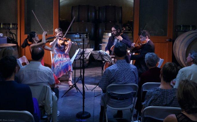 Willamette Valley Chamber Music Festival at J Christopher Barrel Room
