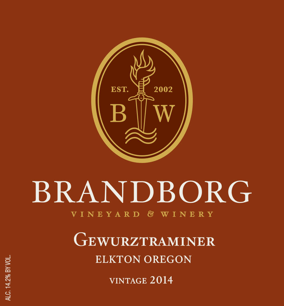 Brandborg Vineyard and Winery Gewurztraminer