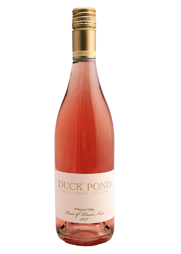 uck Pond Fries Family Cellars Rose of Pinot Noir