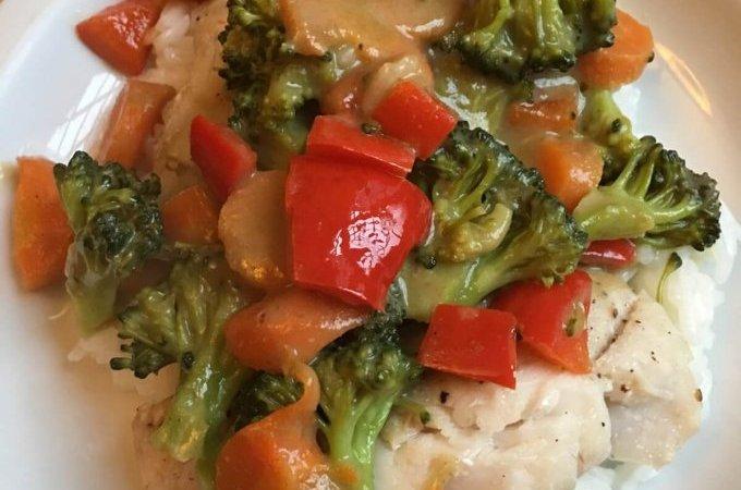 hai Green Curry Rockfish