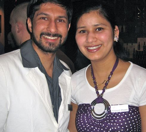 Bobby and Preeta Gidda of Volcanic Hills Winery By Mari Kane, www.tastingroomconfidential.com