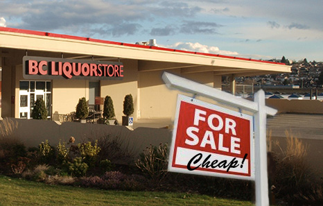 BC Liquor Distribution Branch to Sell Out