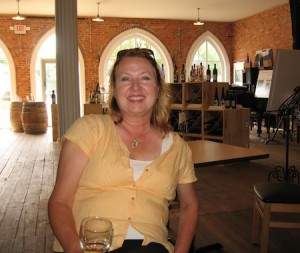 Connie Currie of Blue Water Winery, tastingroomconfidential.com