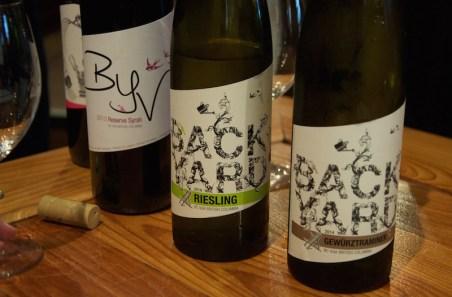 Backyard Vineyards syrah riesling gewurstraminer