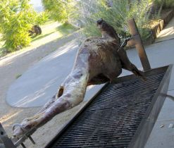 spit lamb, http://tastingroomconfidential.com/covert-farms-serves-roasted-lamb-california-memories/