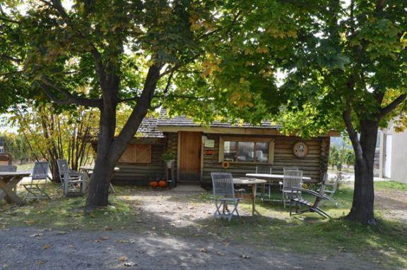 tasting cabin
