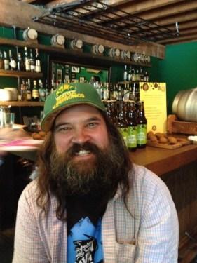 Todd Graham. R&B Brewing brewmaster