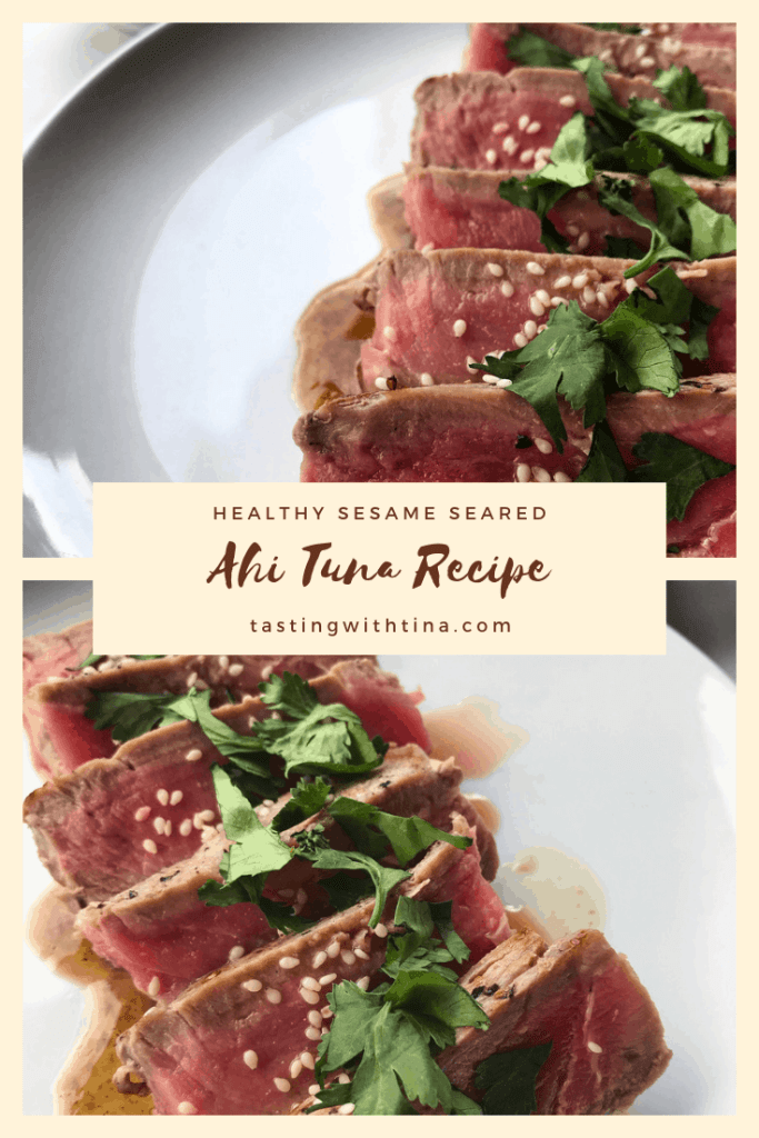 Healthy Sesame Seared Ahi Tuna Recipe
