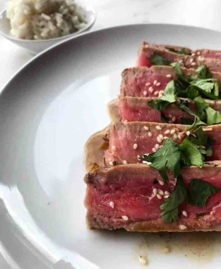 Healthy Sesame Seared Ahi Tuna