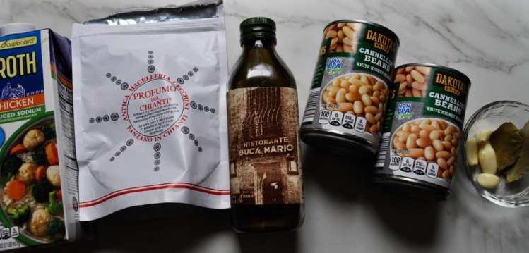Pantry Beans Ingredients
