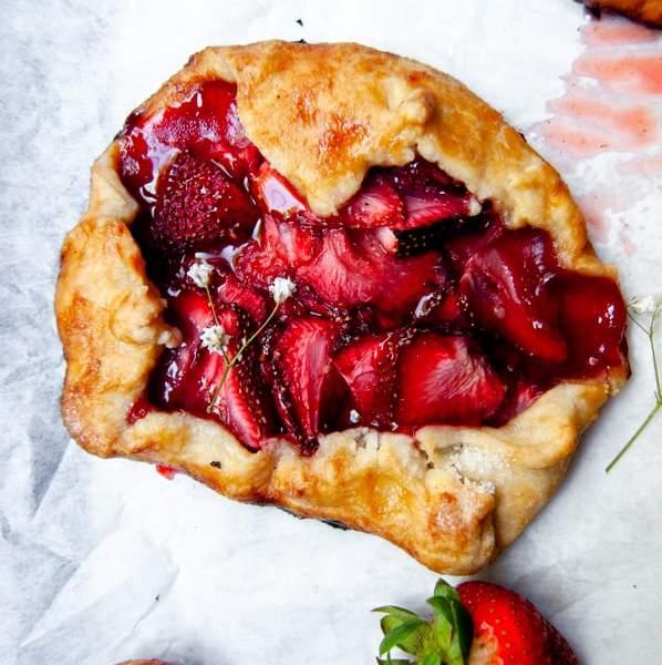 Strawberry Galette