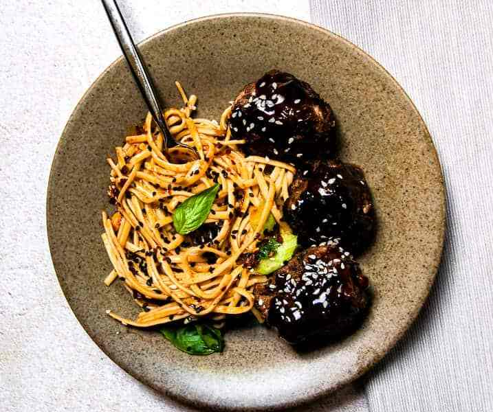 Easy and Spicy Asian Inspired Chili Oil Noodles