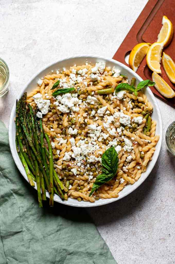 Pasta Primavera with Lemon
