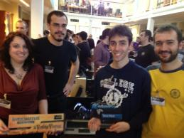 Indomitus Games awarded with the 'Best Pitch' at Svilupparty (Press Officer, Indomitus Games, 2013)