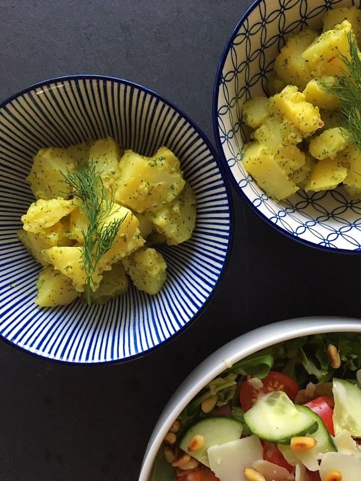 Snelle aardappelsalade