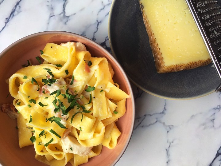 Pappardelle Manchego
