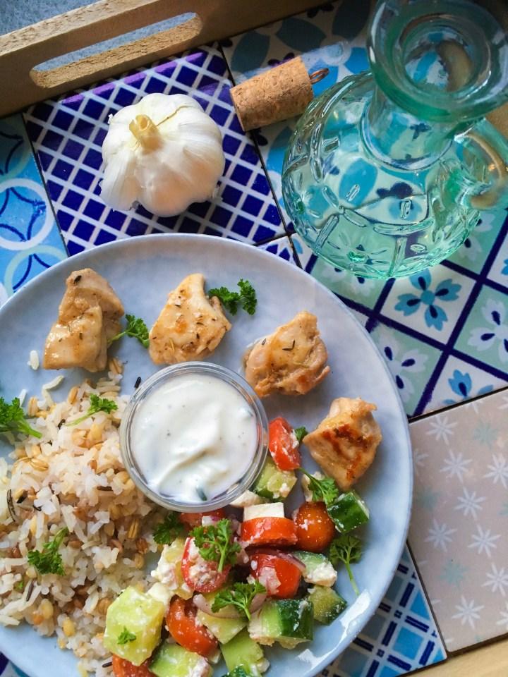 Griekse bowl