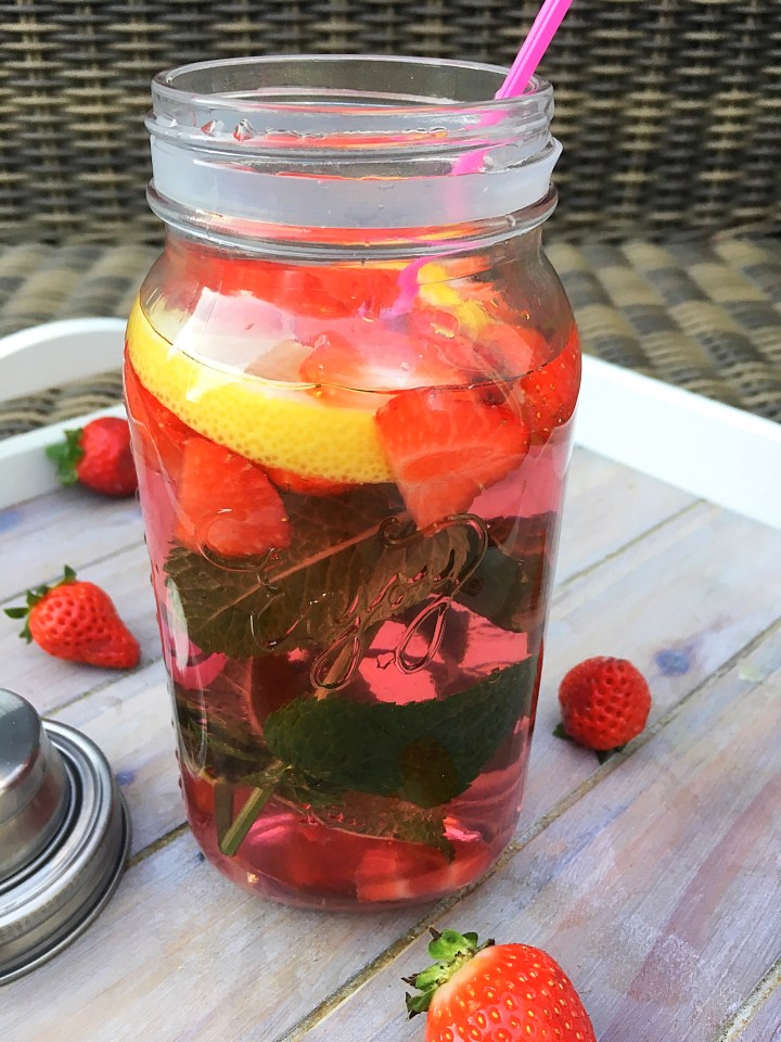 Verfrissende limonade