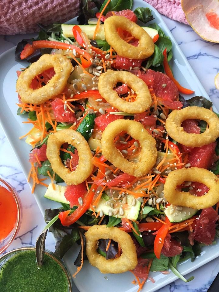 Calamares Salade