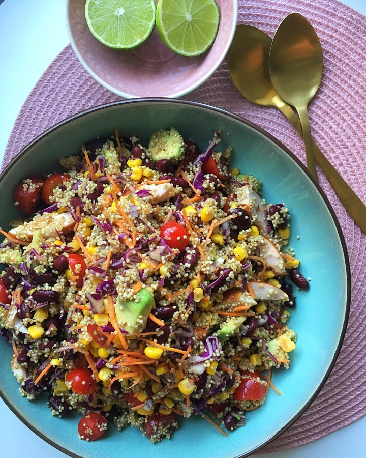 Quinoa Mexicaanse style