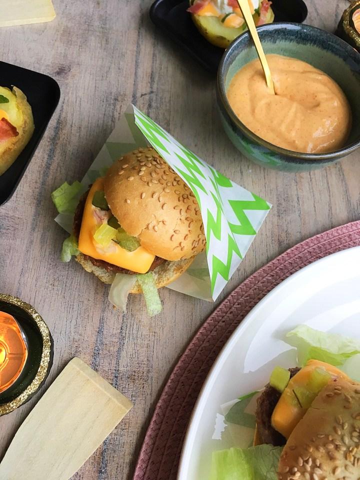 Mini Big Mac voor de Gourmet