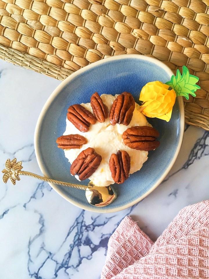 Ananas pecannoten dip