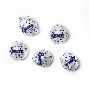 5 Baci chocolates.